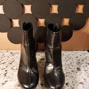 Franco Sarto Black Bootie size 8.5